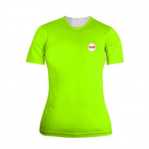 R-M Damen Funktions-Shirt Neon